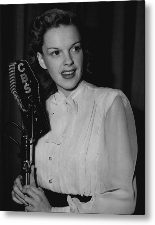 classic Metal Print featuring the photograph Judy Garland by Retro Images Archive