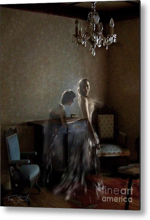 Bride Metal Print featuring the photograph Brides Maid by Tom Straub
