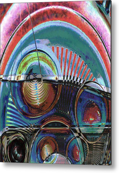 Abstract Metal Print featuring the photograph Finn by Robert St Clair