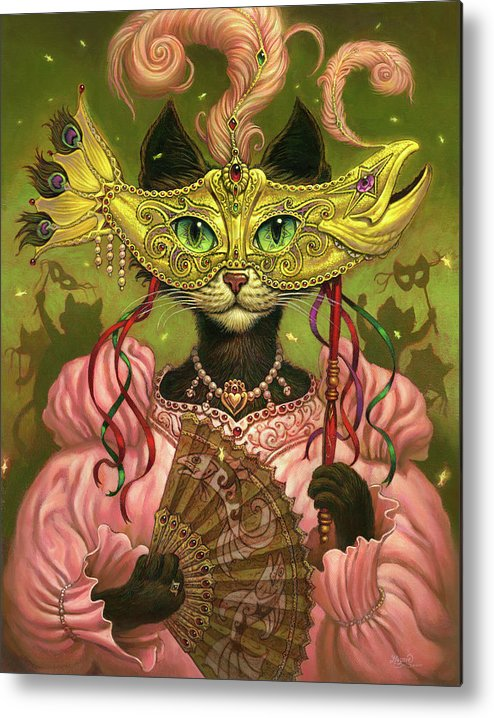Jeff Haynie Metal Print featuring the painting Incatneato by Jeff Haynie