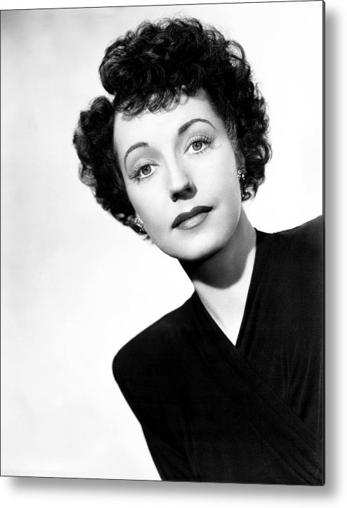 1940s Movies Metal Print featuring the photograph Just Before Dawn, Mona Barrie, 1946 by Everett