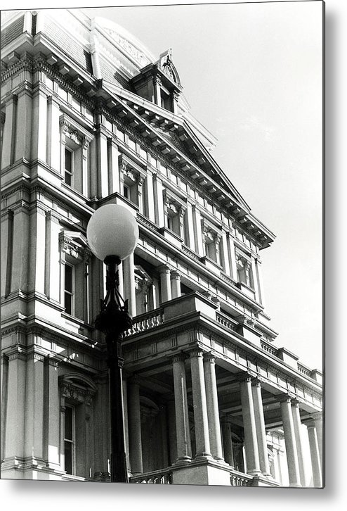 Architecture Metal Print featuring the photograph Landmark by Joyce Muema