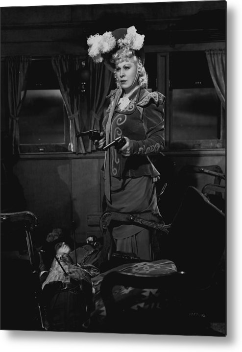 classic Metal Print featuring the photograph Mae West by Retro Images Archive