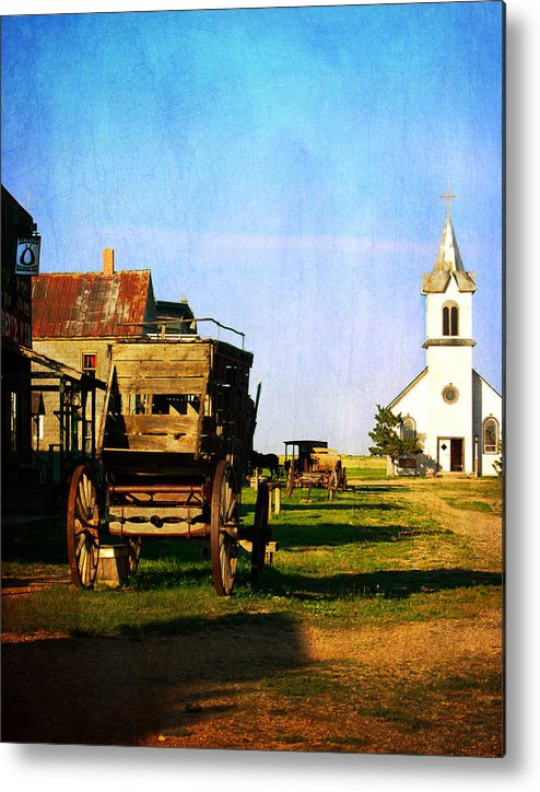 Settlers Metal Print featuring the photograph Main Street Usa by Judy Hall-Folde
