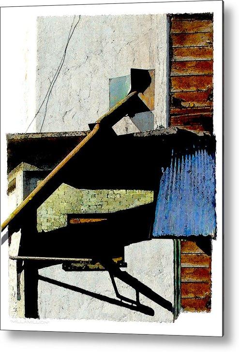 Urban Metal Print featuring the digital art Millamillion by Brenda Leedy
