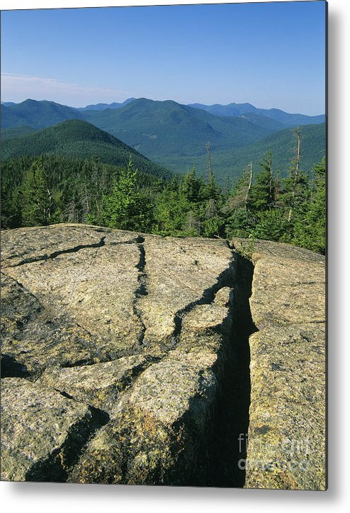Hike Metal Print featuring the photograph Mount Crawford - White Mountains New Hampshire by Erin Paul Donovan