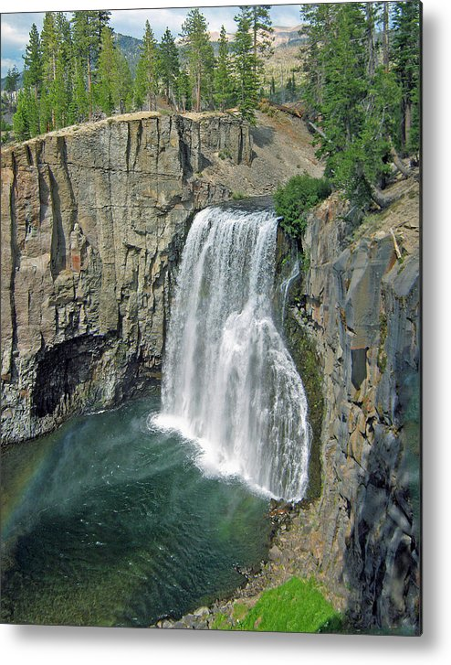 Rainbow Falls Metal Print featuring the photograph Rainbow Falls by Jim Halas