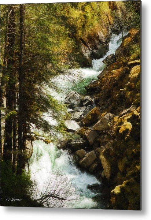 Nooksack Falls Metal Print featuring the photograph Nooksack Falls 2 by DMSprouse Art