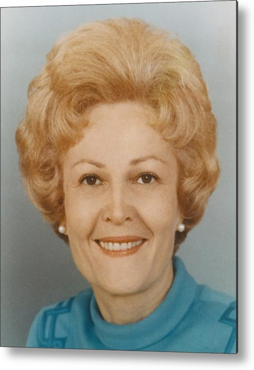 History Metal Print featuring the photograph First Lady Patricia Nixon 1912-1993 by Everett