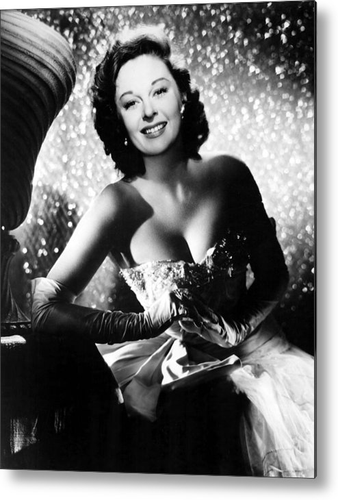 1950s Portraits Metal Print featuring the photograph Ill Cry Tomorrow, Susan Hayward, 1955 by Everett