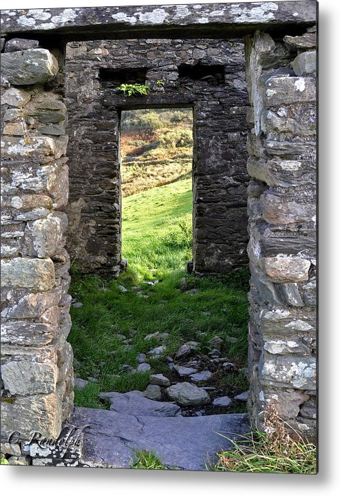 Ireland Metal Print featuring the photograph Into The Light by Cheri Randolph