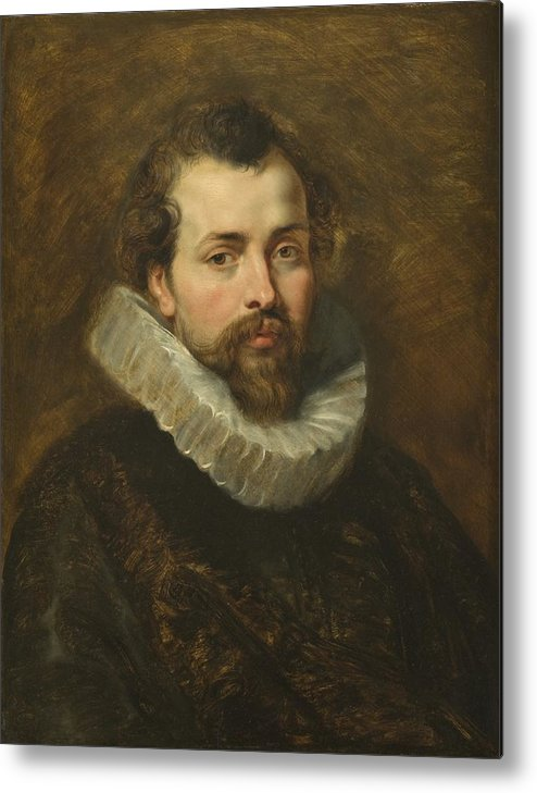 Philippe Metal Print featuring the painting Philippe Rubens - The Artist's Brother by Peter Paul Rubens