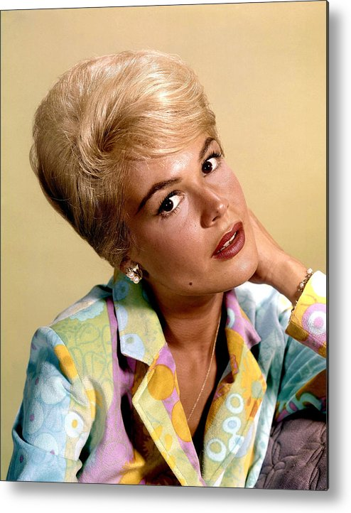 1960s Hairstyles Metal Print featuring the photograph Sandra Dee, Ca. Early 1960s by Everett