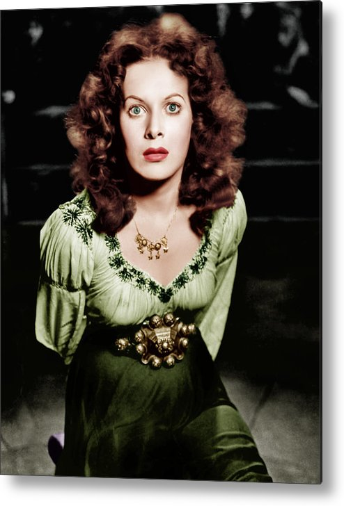 1930s Movies Metal Print featuring the photograph The Hunchback Of Notre Dame, Maureen by Everett