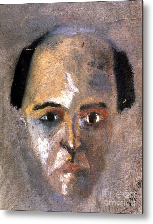 1910 Metal Print featuring the photograph Arnold Schoenberg by Granger