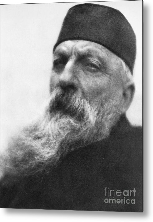 1906 Metal Print featuring the photograph Auguste Rodin (1840-1917) by Granger