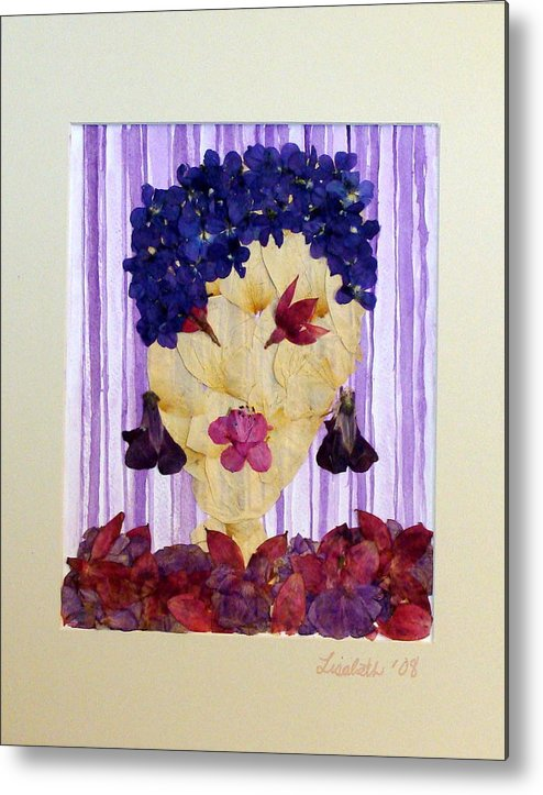Metal Print featuring the mixed media Caio Baby by Lisabeth Billingsley
