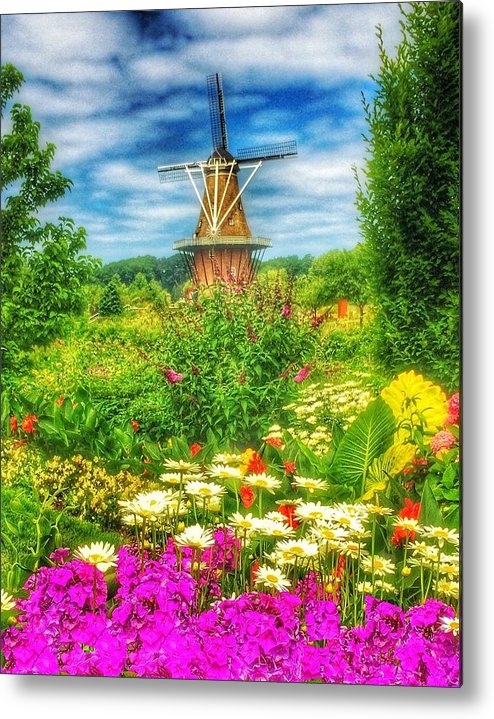 Faith Metal Print featuring the photograph Dancing Winds by Michael Ahlrichs