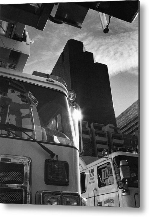 Tower Metal Print featuring the photograph Denver Fire Fdny Tower by Jim Furrer