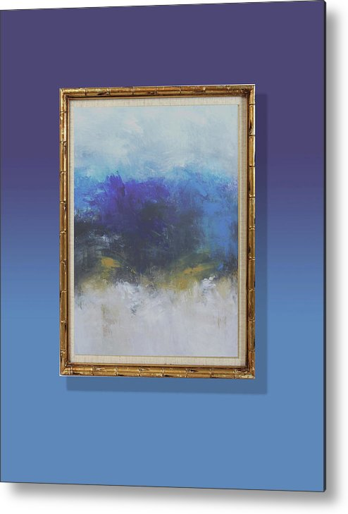 Textures Metal Print featuring the painting Honesty by Ron Halfant