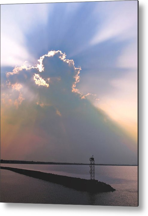 Jetty Metal Print featuring the photograph Jetty by Julie Geiss