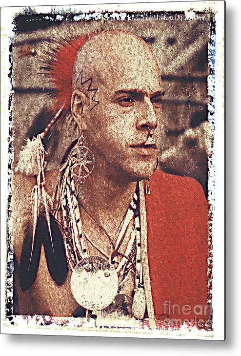 Native American Metal Print featuring the photograph Native Of New York State by Keith Dillon