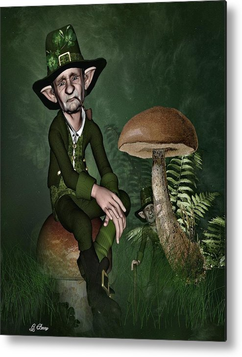 Fairyland Metal Print featuring the photograph Irish Forklore by G Berry