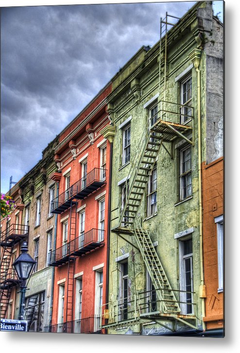 Rue Metal Print featuring the photograph Rue Bienville by Tammy Wetzel