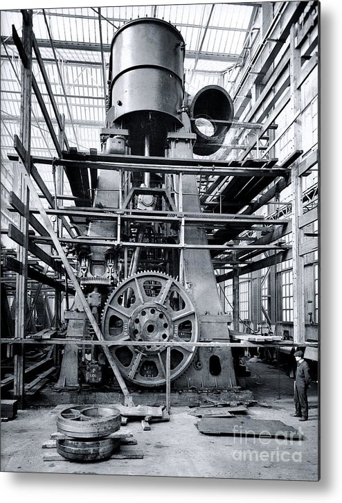 Titanic Engine Room Coal: Titanic's Engines Metal Print By The Titanic Project