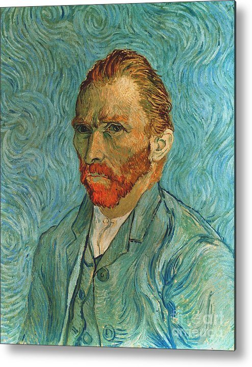 19th Century Metal Print featuring the photograph Vincent Van Gogh (1853-1890) by Granger