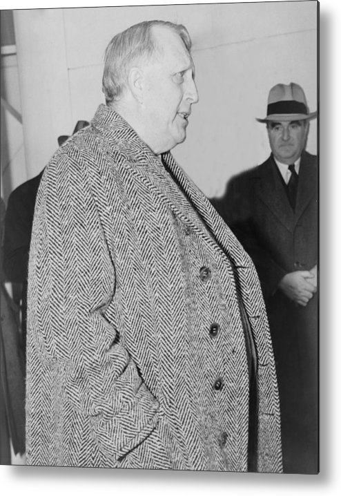 History Metal Print featuring the photograph William Randolph Hearst, Sr. 1863-1951 by Everett