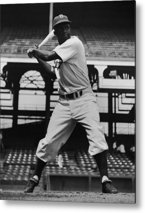People Metal Print featuring the photograph Jackie Robinson by Archive Photos