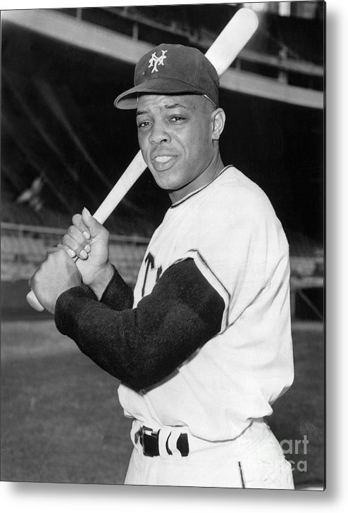 People Metal Print featuring the photograph Willie Mays by National Baseball Hall Of Fame Library