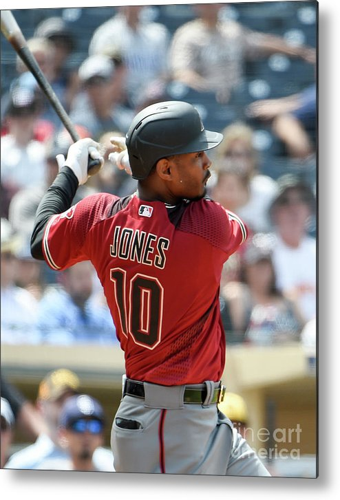 Three Quarter Length Metal Print featuring the photograph Adam Jones by Denis Poroy