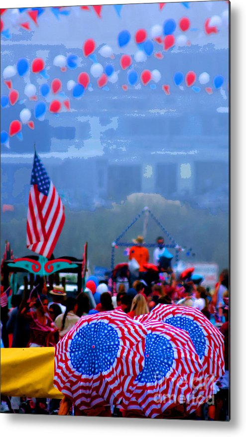 Celebration Metal Print featuring the photograph Celebrate America by Tap On Photo
