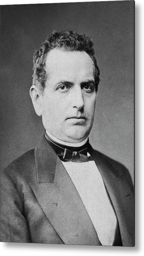 Max Wilms Metal Print featuring the photograph Max Wilms by National Library Of Medicine