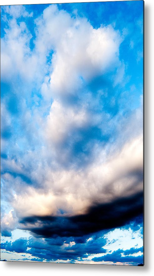Clouds Metal Print featuring the photograph Storm Clouds by Brian Gray