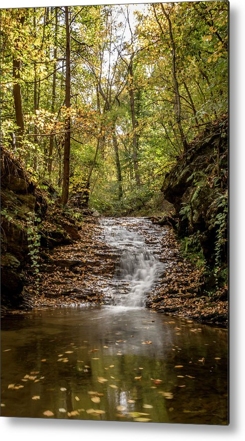 Autumn Metal Print featuring the photograph Autumn At Mill Creek by Travis Boyd