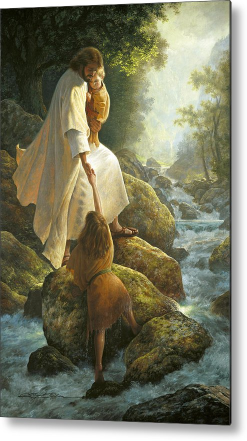 Jesus Metal Print featuring the painting Be Not Afraid by Greg Olsen