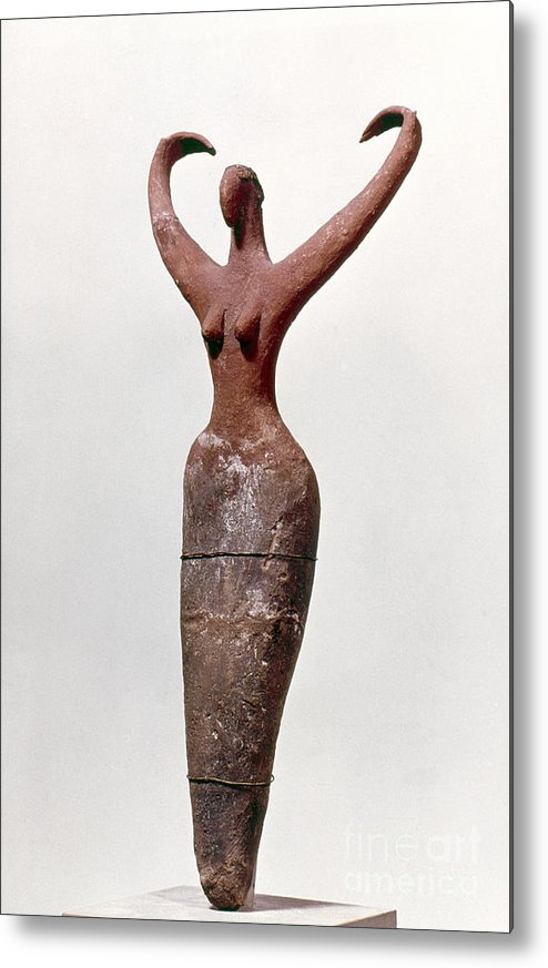 0 Dynasty Metal Print featuring the photograph Egyptian Figure by Granger