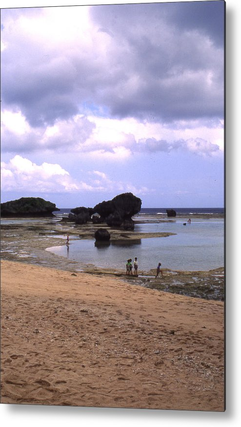 Okinawa Metal Print featuring the photograph Okinawa Beach 3 by Curtis J Neeley Jr