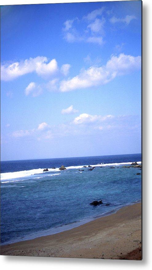 Okinawa Metal Print featuring the photograph Okinawa Beach 7 by Curtis J Neeley Jr