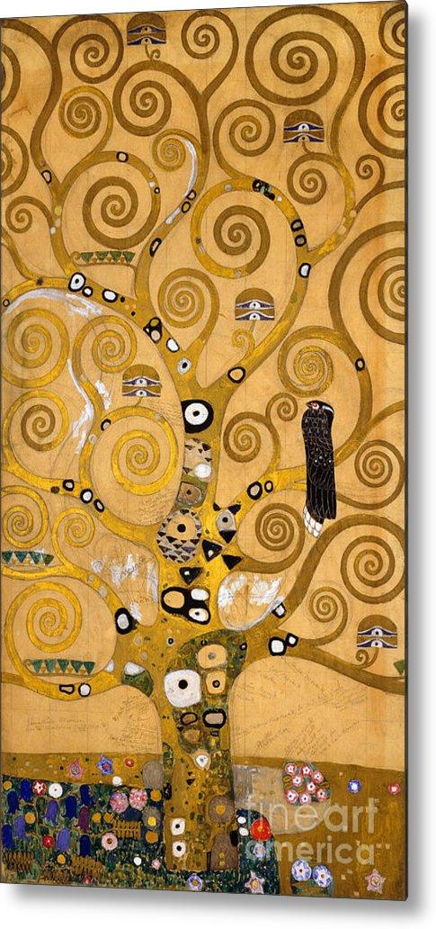 Klimt Metal Print featuring the painting Tree Of Life by Gustav Klimt