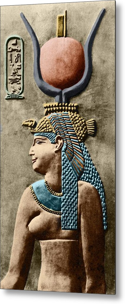 Cartouche Metal Print featuring the photograph Cleopatra Vii by Sheila Terry