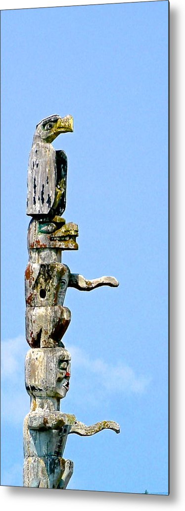 Totem Metal Print featuring the photograph Totem by Brian Sereda