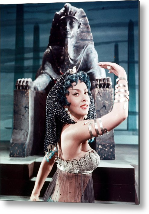Solomon And Sheba Metal Print featuring the photograph Gina Lollobrigida In Solomon And Sheba by Silver Screen