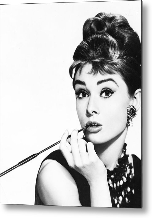 classic Metal Print featuring the photograph Audrey Hepburn by Retro Images Archive