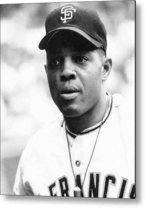 classic Metal Print featuring the photograph Willie Mays by Retro Images Archive