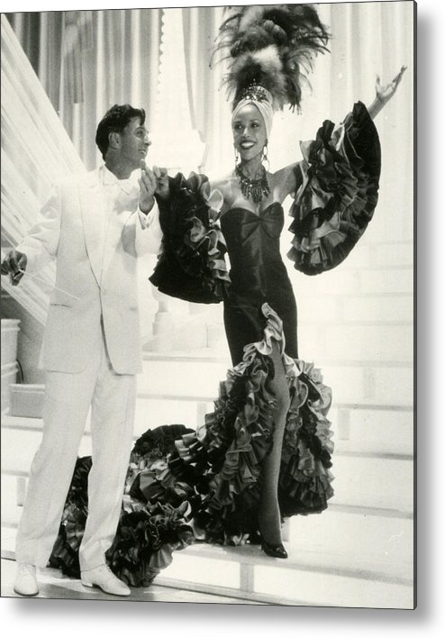 classic Metal Print featuring the photograph Josephine Baker by Retro Images Archive