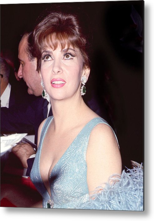 Gina Lollobrigida Metal Print featuring the photograph Gina Lollobrigida by Silver Screen